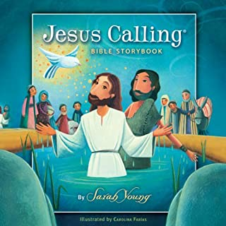 The Jesus Calling Bible Storybook cover art