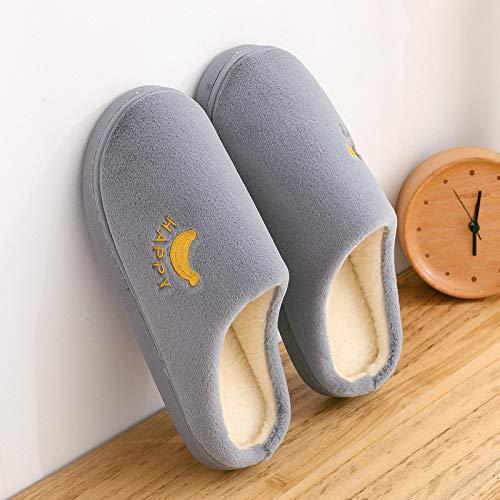 Zapatillas De Estar Dormitorio Zapatillas De Mujer Color Caramelo Plus Zapatillas De Vellón Cortadas Zapatillas De Frutas Preciosas Zapatos Antideslizantes para El Dormitorio Entrega Rápida Gratuita