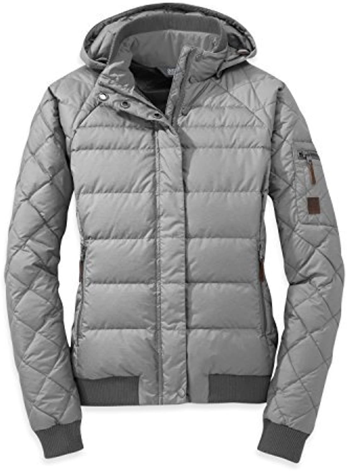 Outdoor Research Women's Placid Down Jacket, Alloy, Small by Outdoor Research
