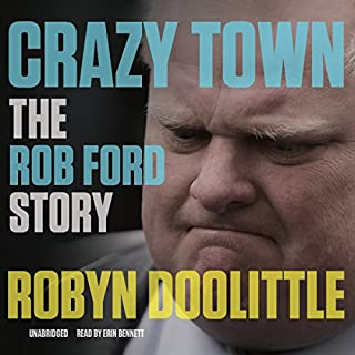 Crazy Town audiobook cover art