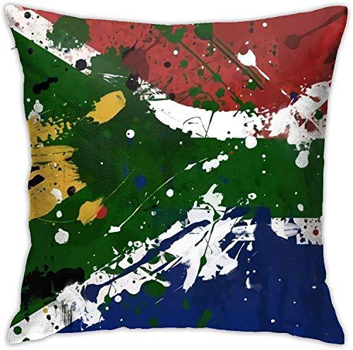 BONRI Sud Africa Copricuscino Copricuscino Decorativo Copricuscino Decorazioni per la casa Quadrato 16 (16'x16 / 40x40 cm