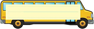 Hygloss Products Die-Cut Name Plate - Great Teaching Tool - Perfect for Labeling in Classroom & Other Uses - School Bus - ...