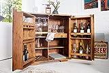 Enfriador de vino bar de vinos de la familia, madera, bar, doblando vitrinas, armarios, bar rústico, una botella de vidrio y trastero,Brown