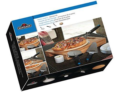Napoleon 90002 Starter Set for Pizza Lovers 4-Piece 33.5 x 18 x 22 cm 1 ml Beige