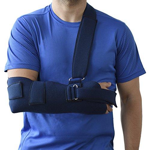 Cabestrillo Sling para hombro brazo inmovilizador ORTONES talla universal Azul