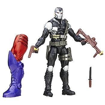 Marvel 6 Inch Legends Mercenaries of Mayhem Scourge Action Figure  Build Red Skull