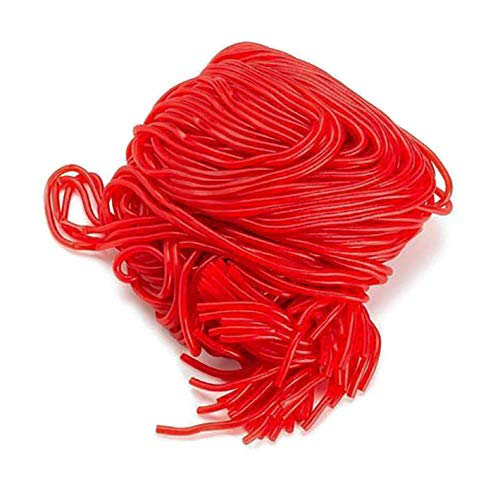 Licorice Candy – Licorice Laces Red – Strawberry Laces - Shoestring Licorice Laces - Red Candy - Bulk Candy – 2 Pounds