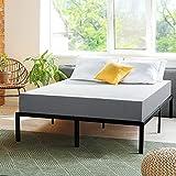 PrimaSleep 8 Inch Gel Infused Superior high-Density Memory Foam Mattress, CertiPUR-US Certified, Gray, Queen
