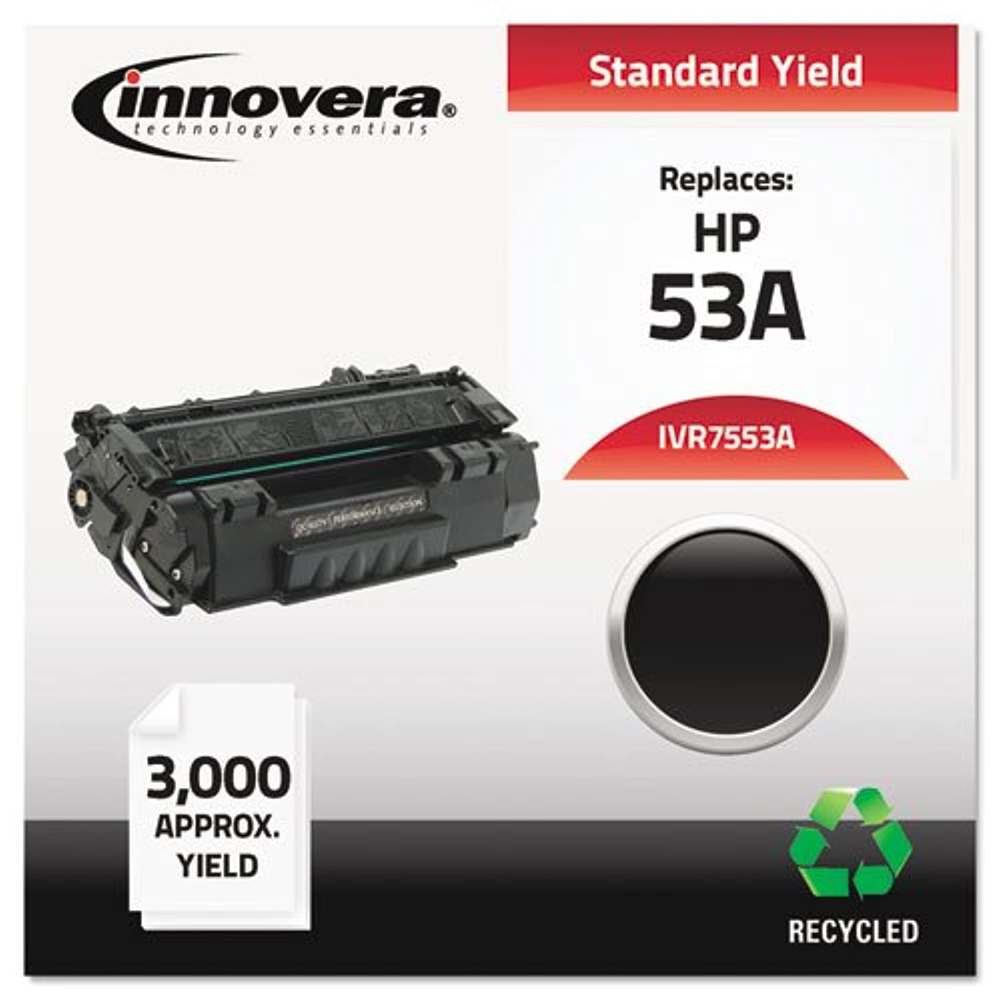 IVR7553A - Remanufactured Q7553A 53A Laser Toner