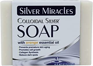 Sponsored Ad - Silver Miracles Colloidal Silver Soap with Orange essential oil
