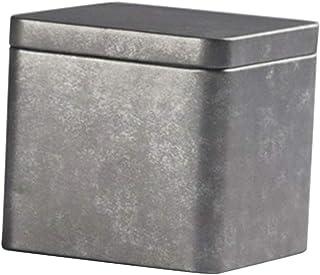 F Fityle 茶缶 コーヒー収納ボックス 茶筒 お茶缶 チョコレート 貯蔵容器 全3種 - #3