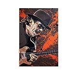DSGFR Carlos Santana Musiker-Gitarristen-Poster,