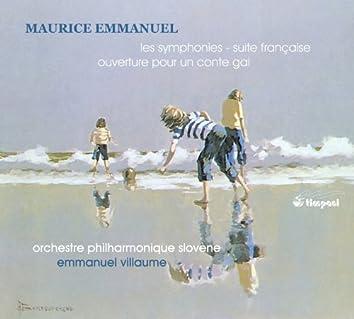 Emmanuel: Orchestral Works