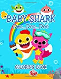Baby Shark Coloring Book: Great Gift for Boys & Girls, Ages 2-4