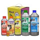 HESI Kit Starter Box Pack de Abono/Fertilizantes de Cultivo (Suelo/Tierra)