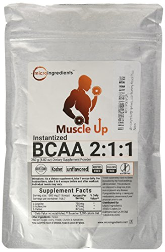 Naturally Fermented Pure Instant BCAA 2:1:1 Powder