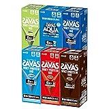 ザバス(SAVAS) ホエイプロテイン100 トライアルタイプ 10.5g×36袋(6種×各6袋) 【アソートセット商品】