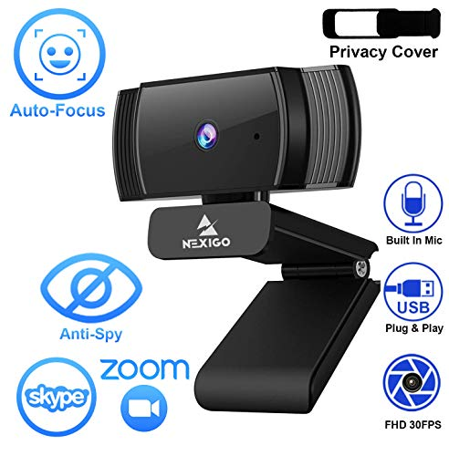 2020 1080p Webcam with Microphon...
