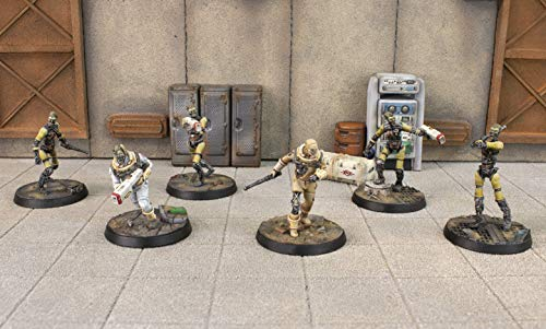 Fallout: Wasteland Warfare - Institute Synths (Minis and Scenics Box Set)