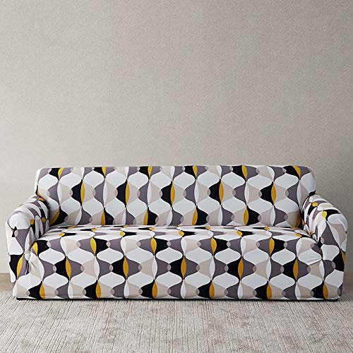 Funda de sofá Europea con Estampado Floral Fundas de sofá para Sala de Estar Sofá Toalla Funda de Muebles Sillón Funda de sofá A12 4 plazas