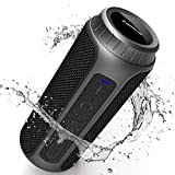 Bluetooth Speaker, Zamkol Portable Wireless Outdoor Speakers Enhanced Bass, 30W and 10H Playtime