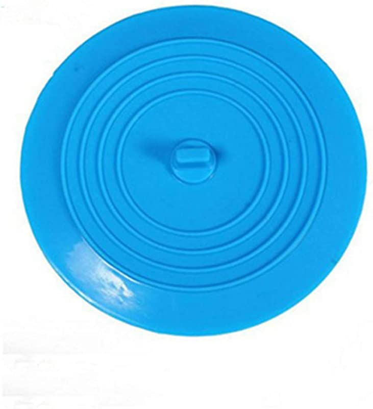 XSM Silicone Tub Stopper Recyclable Bathtub Drain Stopper Drain Plug Cover For Bathrooms And Laundries Kitchen Universal Use 6 Inches 1PCS Teal