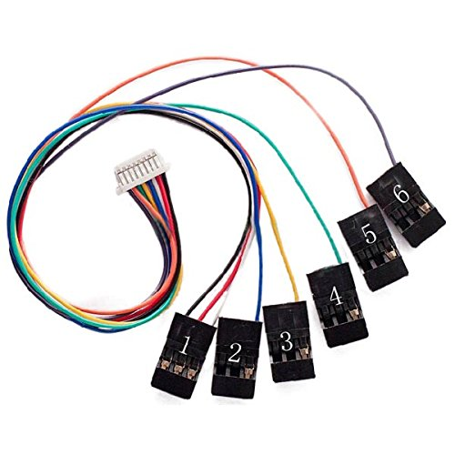 VIDOO Cc3D Flight Controller 8Pin Connection Cable Set Receiverport Für Rc Drone FPV Racing Multi Rotor