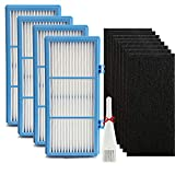 True Filter Replacement for Holmes Aer1 Series Total Air Filter, Replacement Parts # HAPF300AH-U4R, HAP242-NUC (4 HEPA True Filter Replacement + 8 Booster Pre Filter)