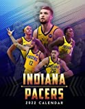 Indiana Pacers 2022 Calendar: Calendar 2022 from Jul 2021 to Dec 2022 with size 8.5x11 inch