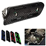 Motocross Exhaust Heat Shield Header Pipe Straight Section Protective Cover for Dirt Bike ATV for KXF250/450 CRF250/450 SXF250/350/450/500 (Black)