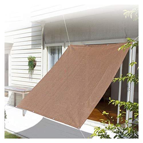 Toldo Vela de Sombra Canopy Portátil Sunshade Red Solar Lona De Sombra Outdoor Canopy Cover Respirable UV Blocking Invernadero Piscina Patio ALGFree (Color : A, Size : 4×6m)