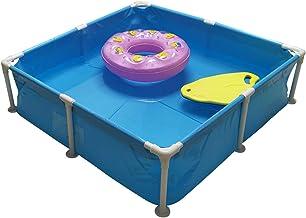 370L Plegable Piscina de Agua para Niño - Impermeable y Resistente al Desgaste Piscina Desmontable Tubular - Sin BPA Piscina - para Exteriores, Jardín, Patio Trasero, Etc - 110 × 110 × 30cm