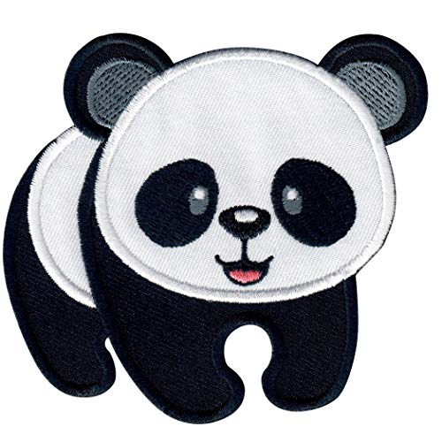 PatchMommy Panda Bear Patch, Iron On/Sew On - Appliques for Kids Children