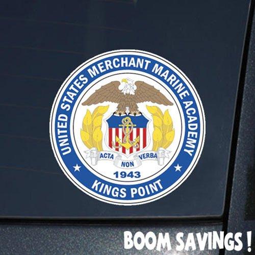 Boomsavings DOD US Merchant Marine Academy 6' Decal Sticker