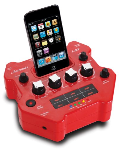 Jammin i-GX Gitaar Effect Processor met Apple iPod Docking Station