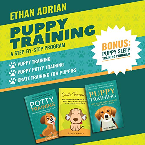 Puppy Training: A Step-by-Step Program cover art