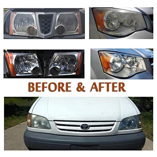 Car Headlights DIY Polishing Kit 1090/12.98