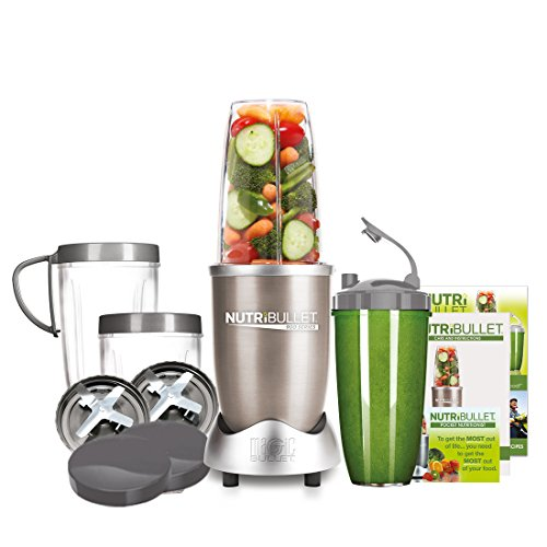 NUTRiBULLET Pro 900 Series Extractor Blender 15 Piece Set, 900 W - Champagne