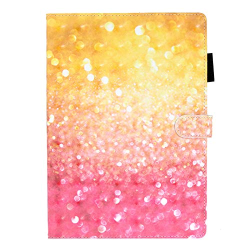 JIan Ying Beautiful Case for Samsung Galaxy Tab A 10.1 (2016) SM-T580 T585 Tablet Slim Cover Protector Sequin