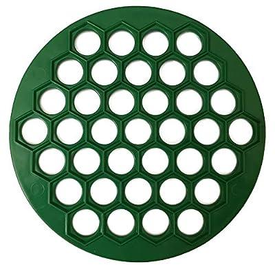 RUSSIAN PELMENI MAKER DUMPLINGS RAVIOLI PLASTIC MOLD (Green)