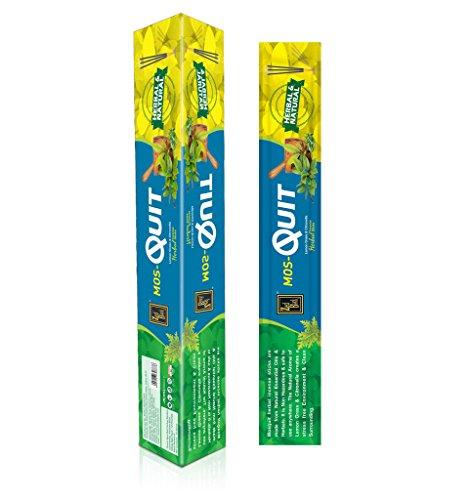 Mosquit Encens - 120 bâton à base de plantes - chasse-moustiques Bâtons de parfum naturel - efficace et digne fabriqués à partir d'huiles essentielles naturelles, les produits à base de plantes
