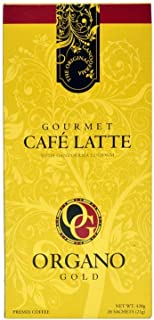 3 box Organo Gold Coffee Cafe Latte FREE Express Delivery