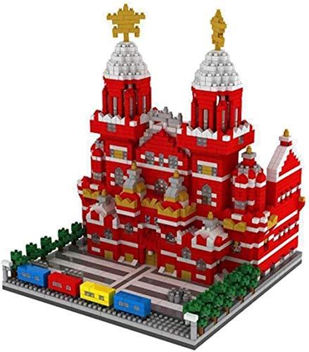 PRIDE S Gebäude Set, Architektur Model Kit Spielzeug, Block Zeichen Mini-Blöcke Stadt Gebäude-Spielzeug-Geschenke 2384 Pcs