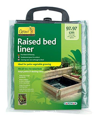 Gardman Grow It Raised Bed Liner 9102 Green