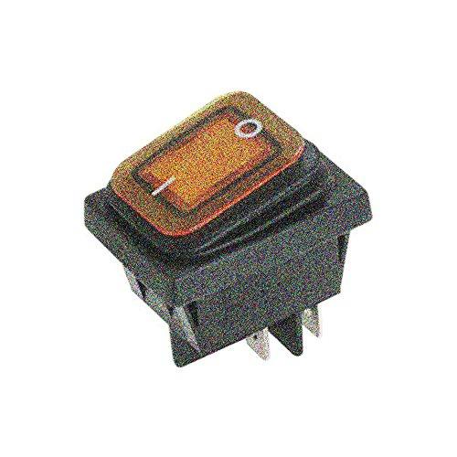 ElectroDH 10.230/2/P - Interruptor Luminoso Estanco, Amarillo