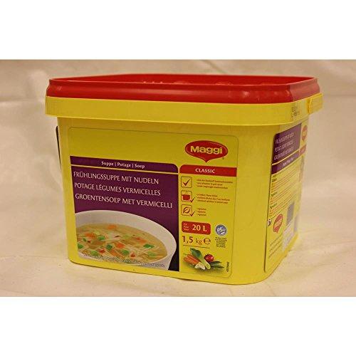 Maggi Groentensoep met Vermicelli 1500g Dose (Frühlingssuppe mit Nudeln)