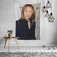 タペストリー X Japan Yoshiki タペストリー インテリア 壁掛け おしゃれ 室内装飾 多機能 寝室 カーテン おしゃれ 個性ギフト 新築祝い 結婚祝い プレゼント ウォール アート 152*102cm