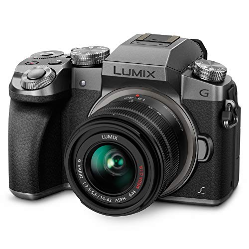 Panasonic Lumix G7KS 4K Mirrorless Camera, 16 Megapixel Digital Camera, 14-42 mm Lens...