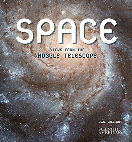 Space Views from the Hubble Telescope 2021 Mini Calendar