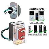 Wasserstein 16V 30VA Doorbell Transformer - Power Supply Compatible with Ring Video Doorbell 1/Doorbell 2/Doorbell Pro, Nest Hello Doorbell, eufy Security Doorbell, and Arlo Video Doorbell